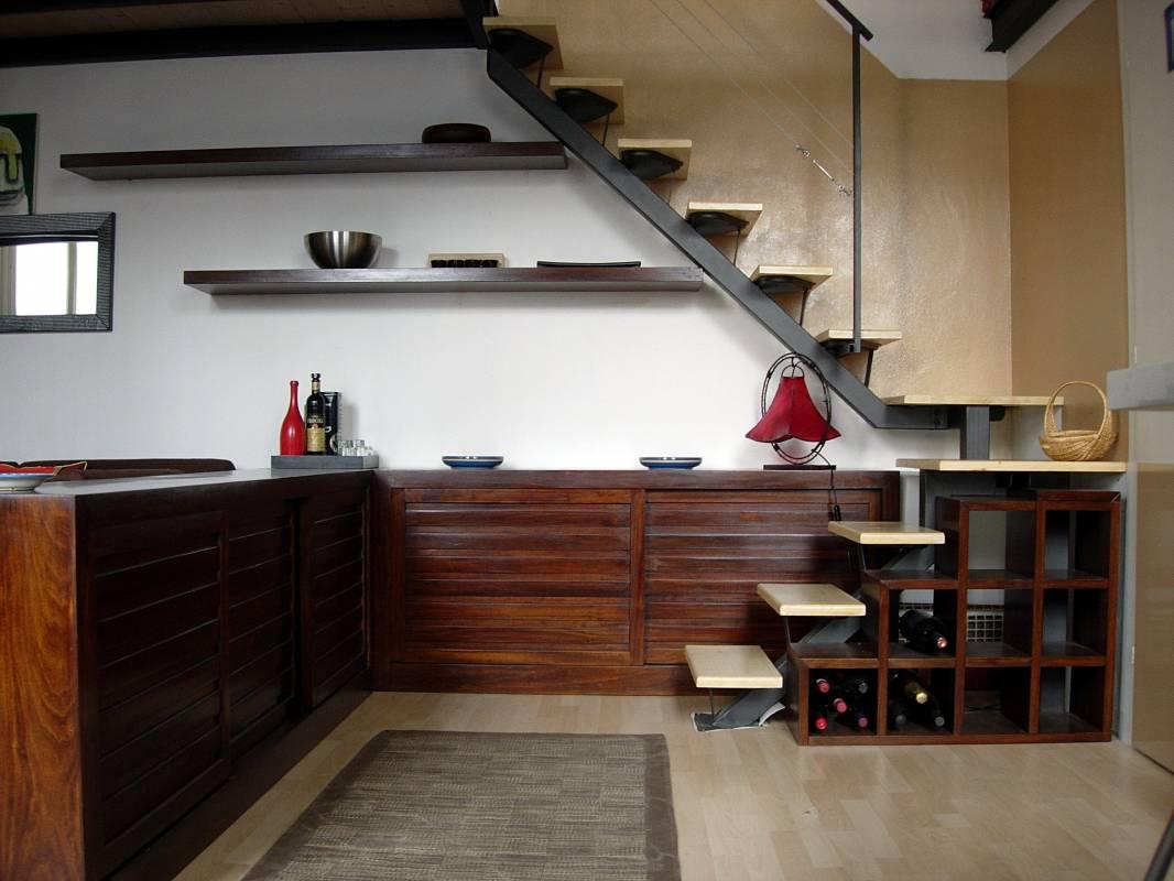 scala in legno per soppalco