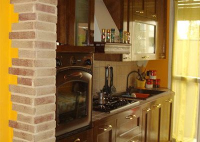 Stunning Cucina Con Arco Gallery - Dolcelegno.com - dolcelegno.com