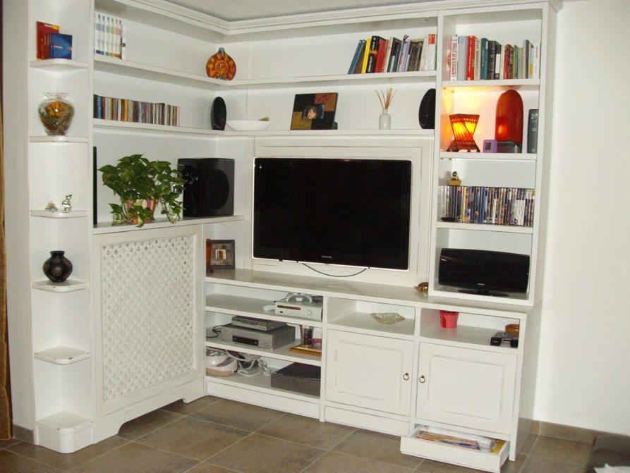 libreria-ad-angolo - Creo Casa Milano, Cucine, Progetti, falegnameria