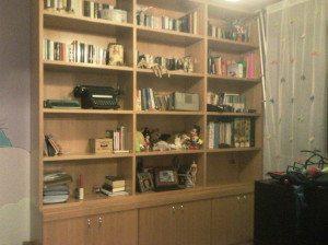 libreria su misura moderna