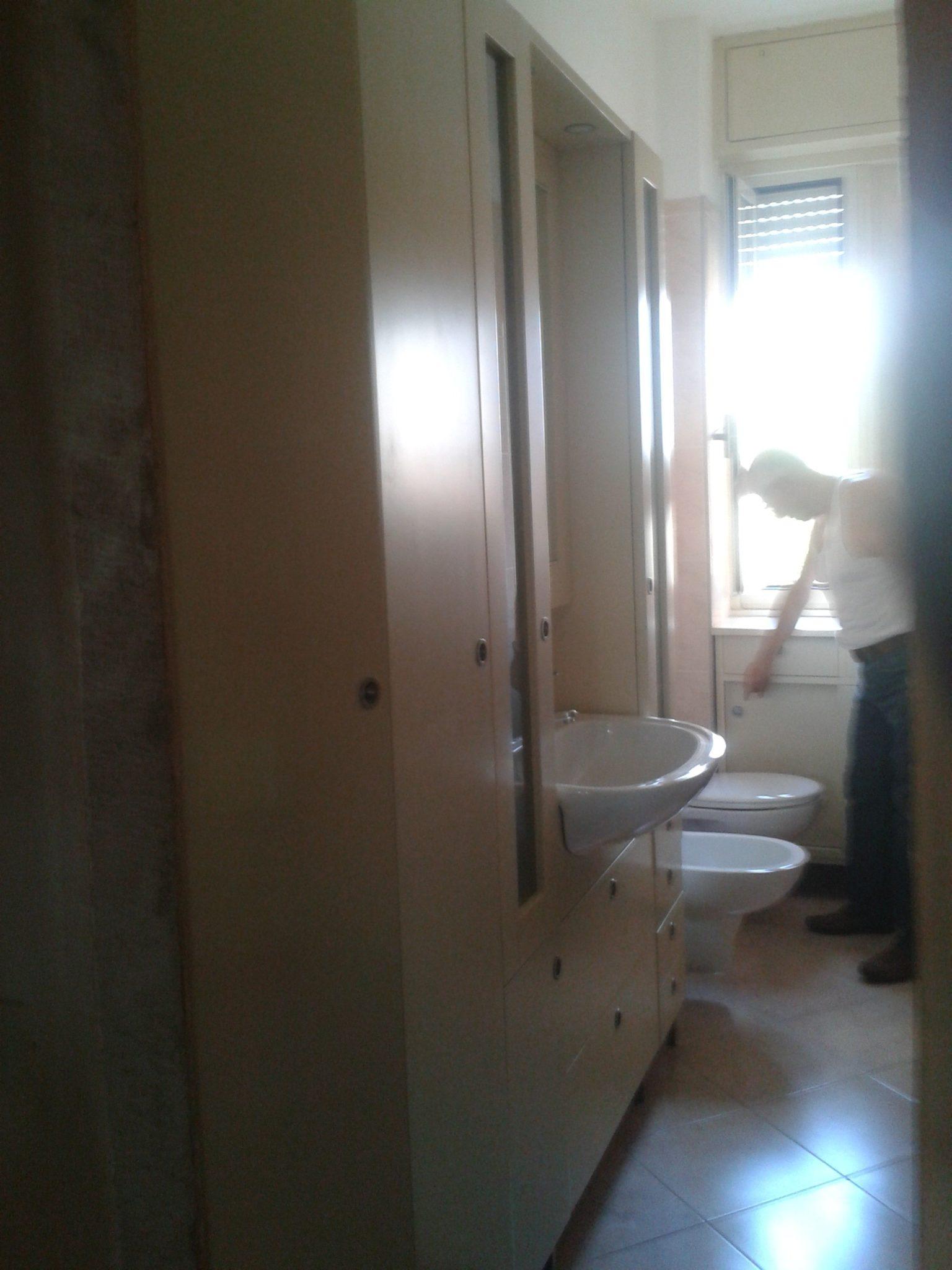 armadio da bagno