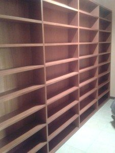 libreria legno ciliegio