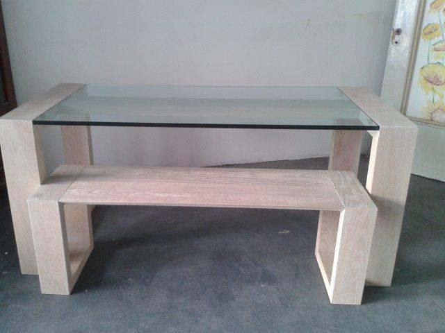 tavoli legno iroko : Tavolo Con Il Piano Realizzato In Pregiato Legno Iroko La Struttura ...