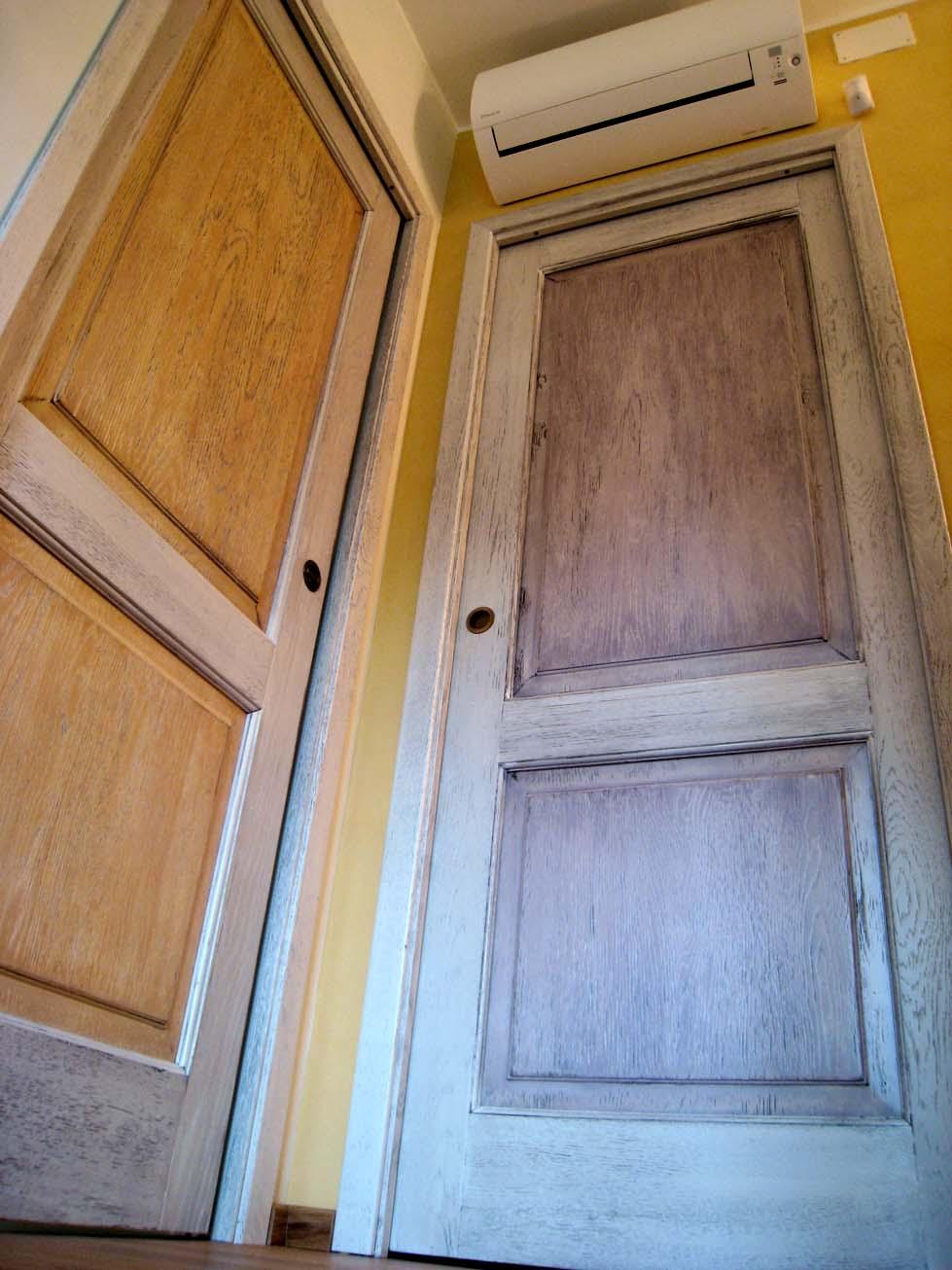 Verniciare Porte Interne Bianche porte scorrevoli invecchiate | creo casa milano, cucine