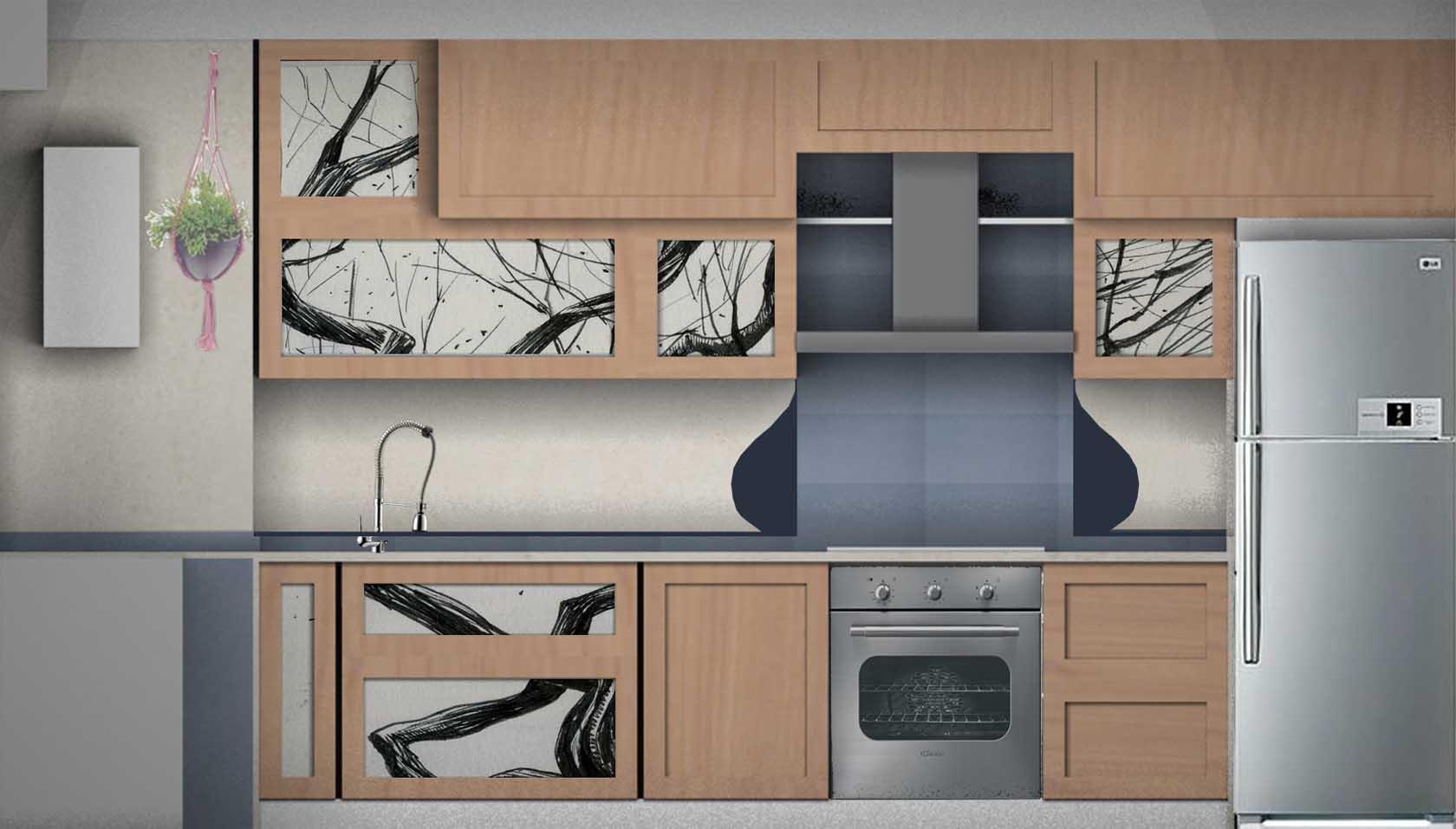 Cucina In Muratura Moderna Progetto. Elegant Cucina In Muratura ...