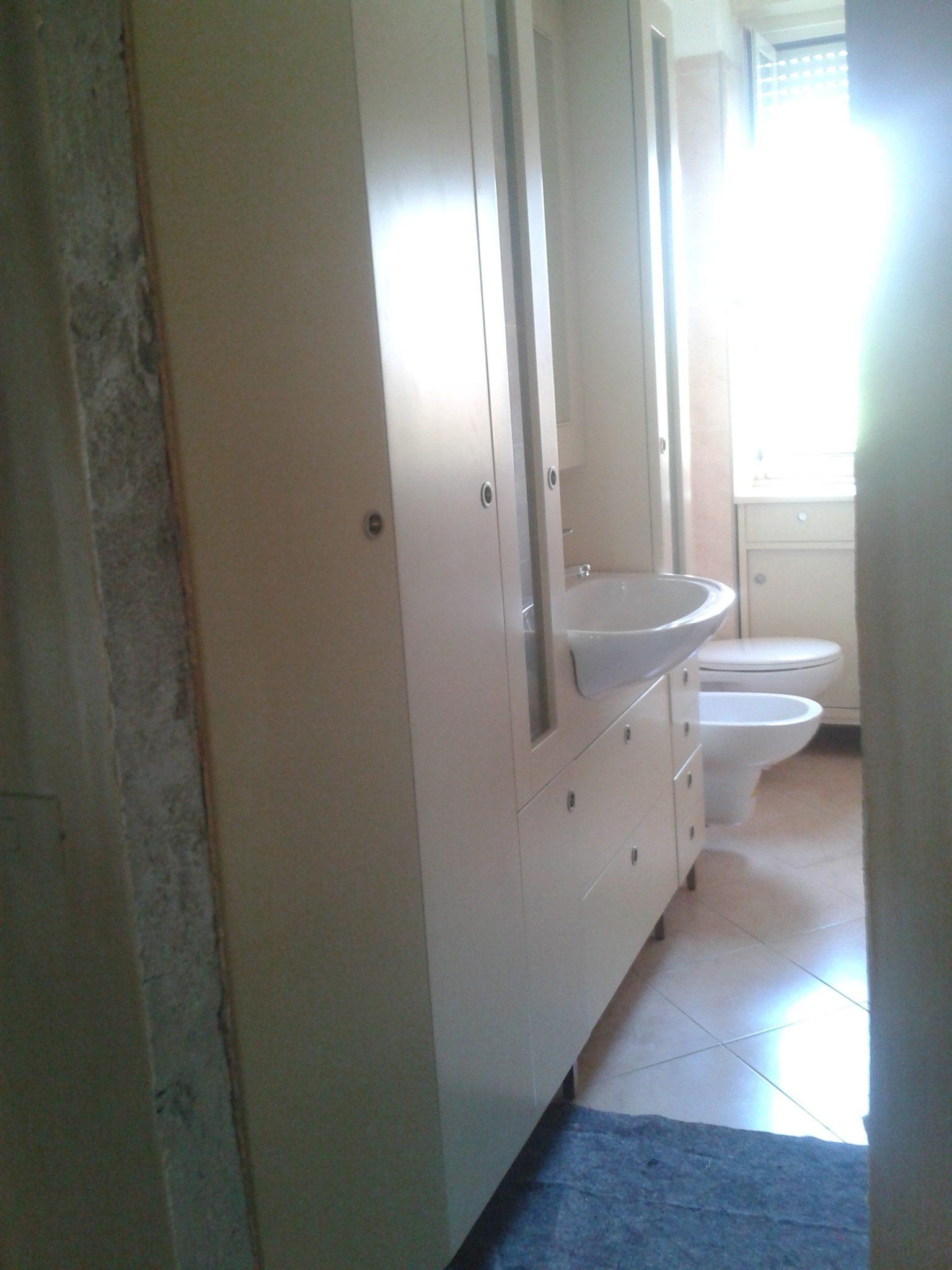 Bagno stretto e lungo giusta vasca e giusti sanitari creocasa milano - Progetto bagno lungo e stretto ...
