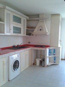 completamento cucina in muratura