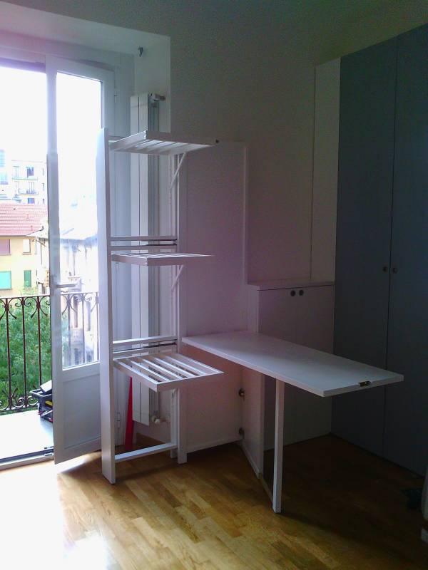 mobili trasformabili: letti, divani, tavoli, stendini