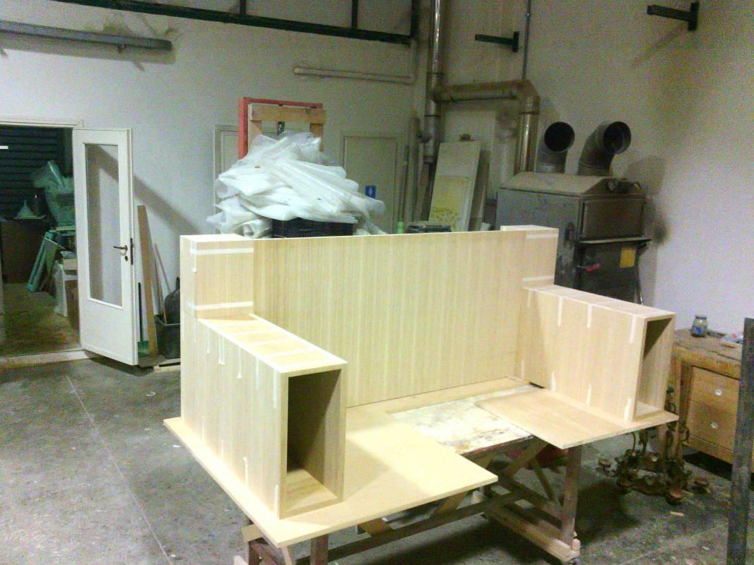 Divani Su Misura Milano divani su misura con struttura interna in legno