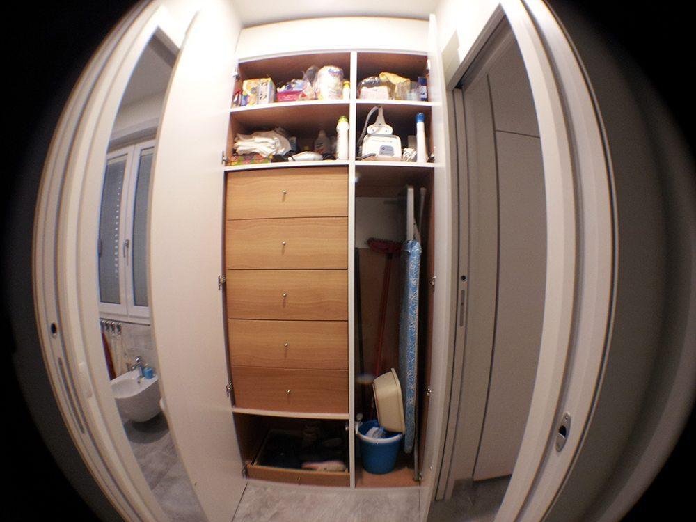 Mobile antibagno armadio su misura creo casa milano for Misura casa milano