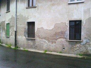 Umidità di risalita nei muri a opera