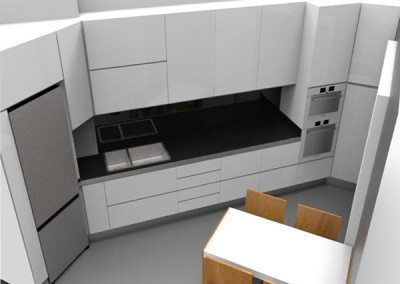 progetto reedenring cucina