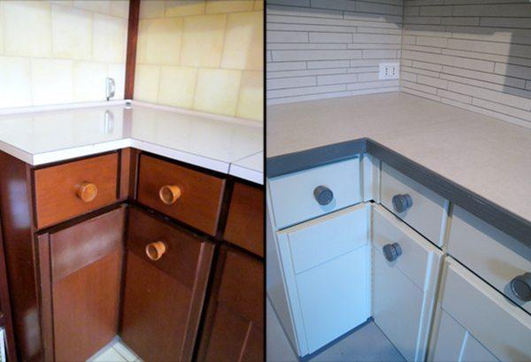 Cucine su misura in legno i mobilieri in zona vigentina - Laccatura cucina rovinata ...