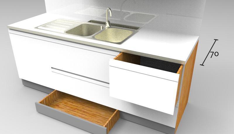 Cucine profondita 45 cm for Cucine su misura ikea