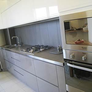 Cucina laccata lucida Milano