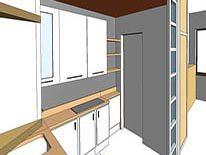 Cucine con profondità ridotta a 45 cm inserimento elettrodomestici