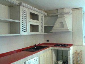 cucine su misura in muratura