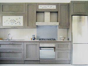 cucine su misura in rovere