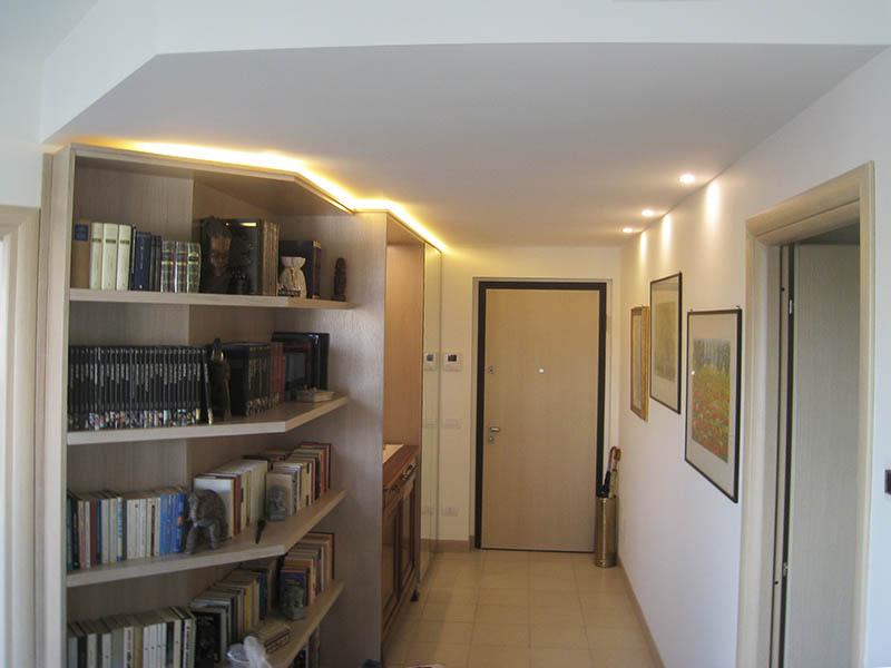 Libreria Legno Milano.Librerie In Legno Per La Tua Casa A Milano
