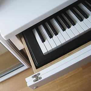 tavolo tastiera musicale