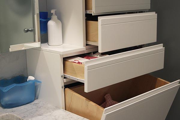 Ante Per Cucina Su Misura.Bagno Su Misura Particolare Foto Creo Casa Milano Cucine