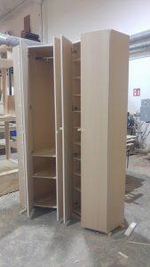 armadi ad angolo scarpiera realizzato in falegnameria da ...