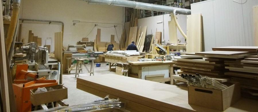 laboratorio ebanista del legno